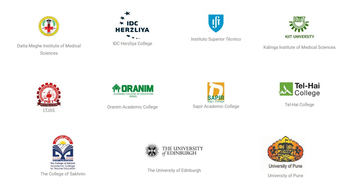 THE MEMBERS INSTITUTIONS LOGOS